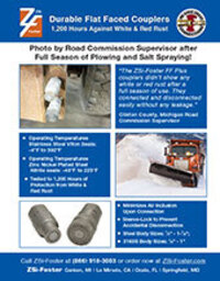 FF Coupler (ISO 16028) for Snow Plows and Salt Trucks