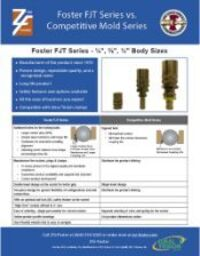 ZSi-Foster FJT vs Competitive Mold Series